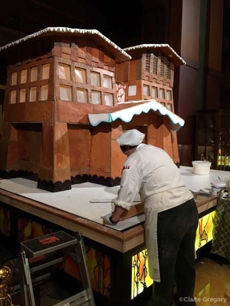Gingerbread Builders are at work!