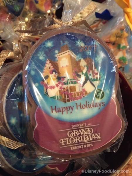 Happy Holidays Cookie