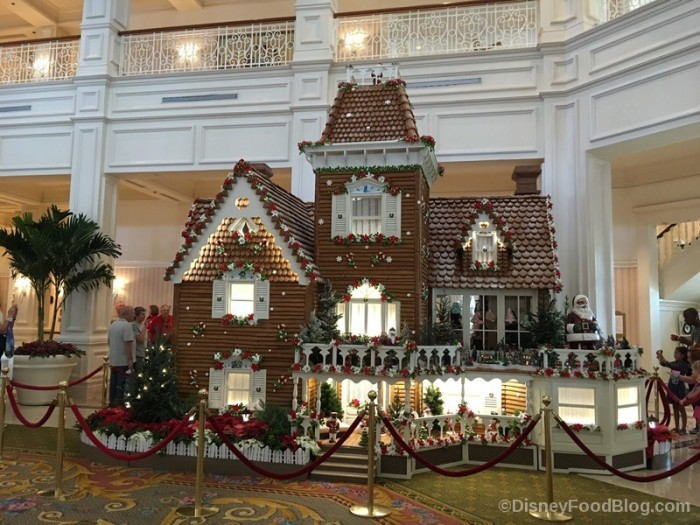 2017 Grand Floridian Gingerbread House