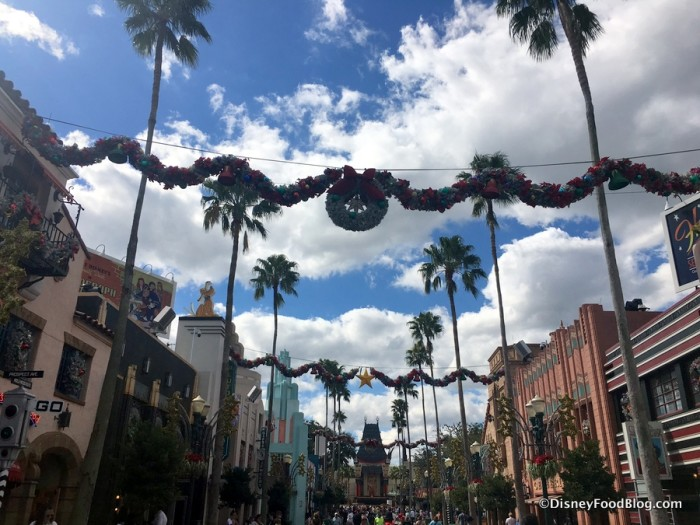 Hollywood Studios Decorations