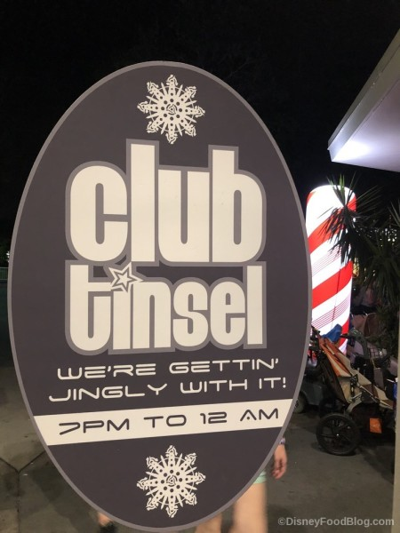 Club Tinsel!