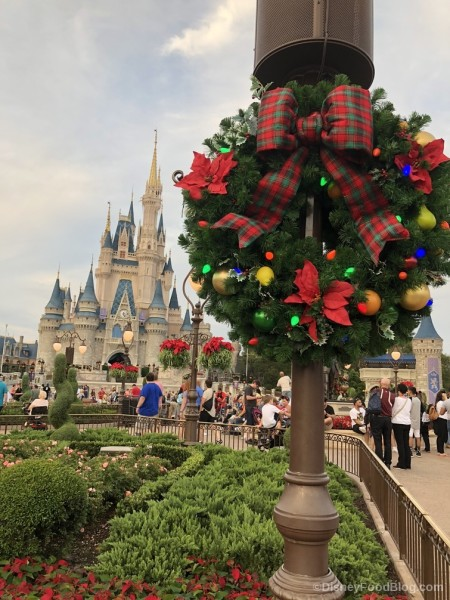 Holiday Decorations on Main Street, USA!