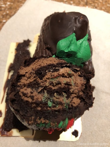 Interior of Yule Log