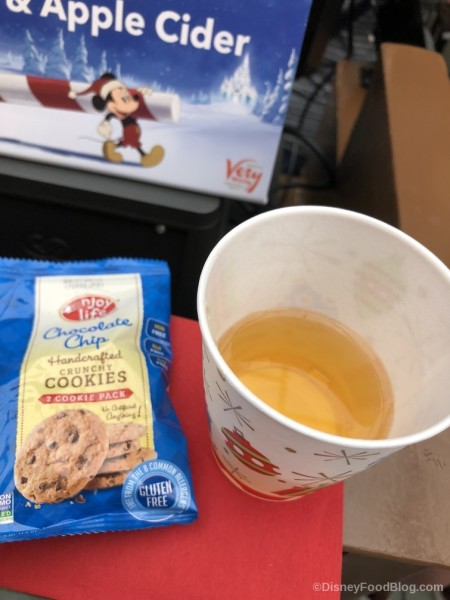 Allergy-Friendly Enjoy Life Cookies with Apple Cider