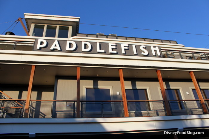 Paddlefish is just one of the brunch locations for Mother's Day