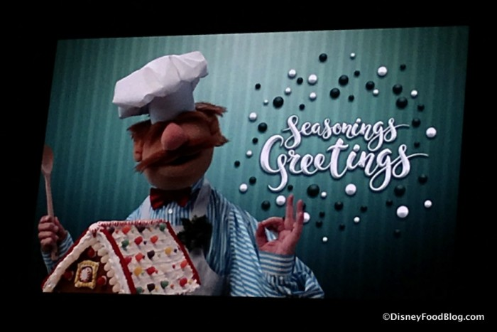 Seasonings Greetings from the Swedish Chef