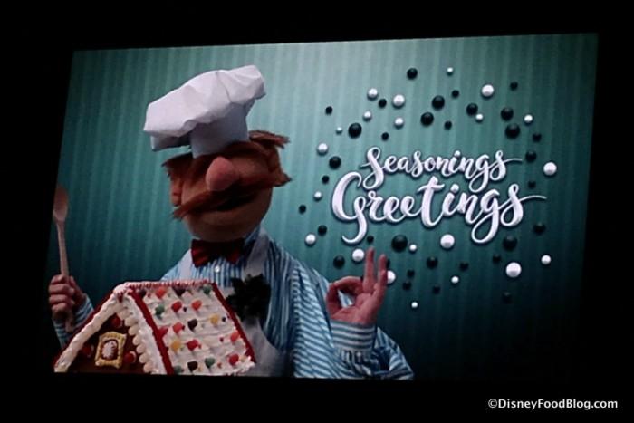 Seasonings Greetings from the Swedish Chef