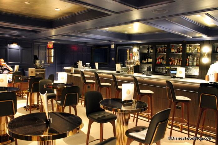 Ale & Compass Bar Area