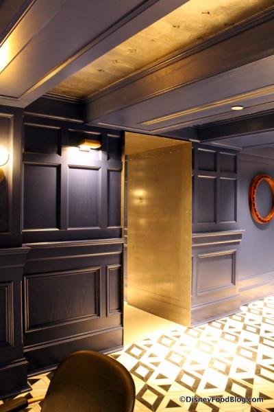 Entrance into Bar Area