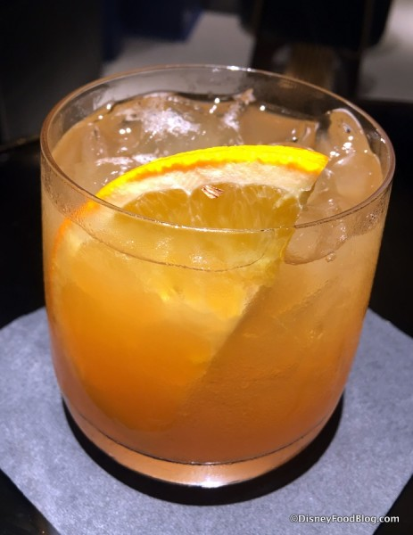 Maple Syrup Old Fashioned Drink