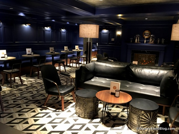 Refurbished Ale & Compass Lounge