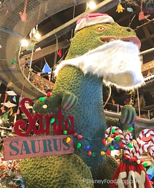 Santa Saurus