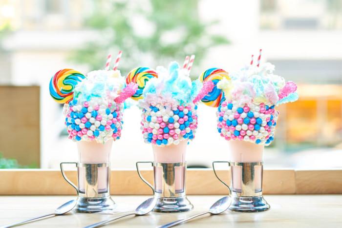 CrazyShake™ milkshakes ©Disney