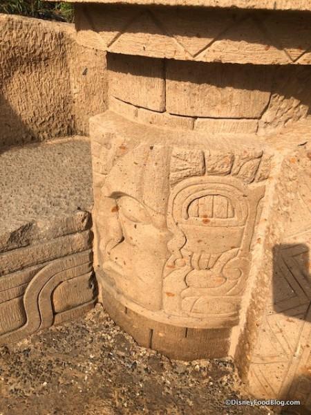 Mayan-inspired Carvings