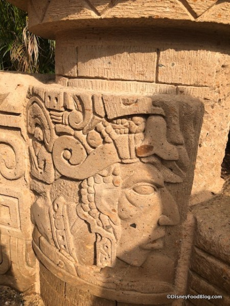 Mayan-inspired Carvings