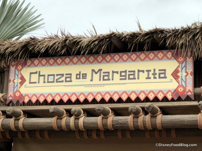 Choza de Margarita sign