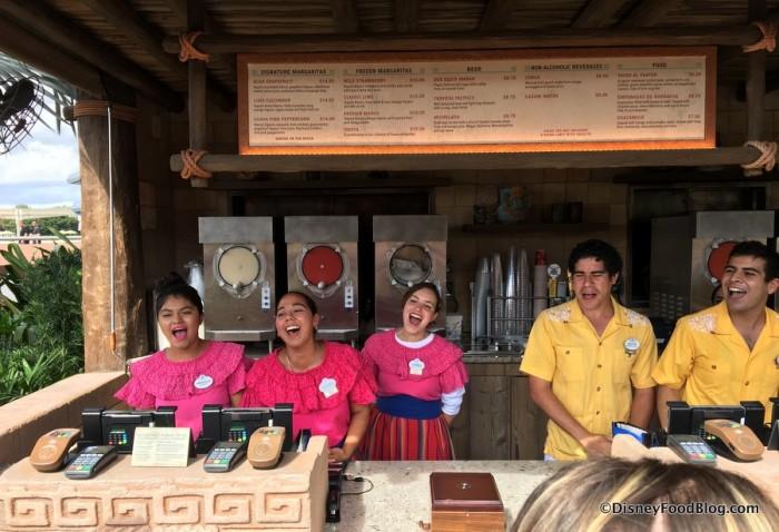 Opening Day at Choza de Margarita