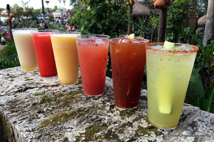 Margaritas at Choza de Margarita
