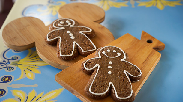 Gingerbread Man Cookies ©Disney
