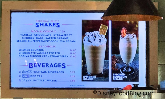 Shakes at D-Luxe Burger