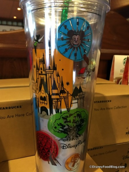 Disney Parks Cold Beverage Tumbler