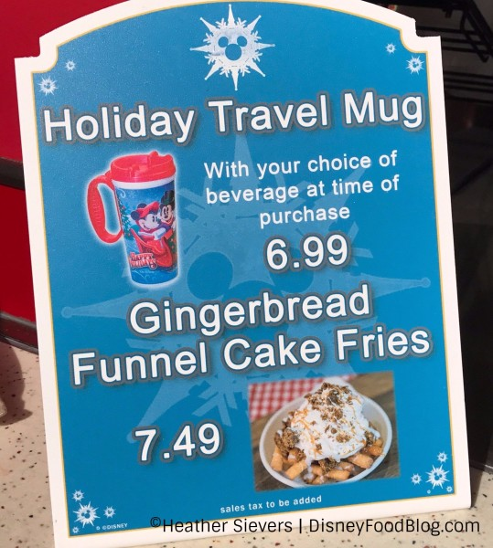 Gingerbread Funnel Cake Fries!