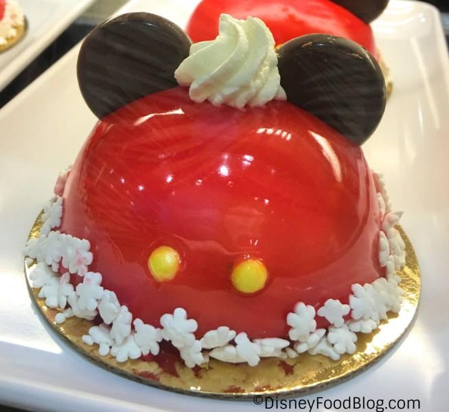 Maple Cherry Mickey Dome Cake
