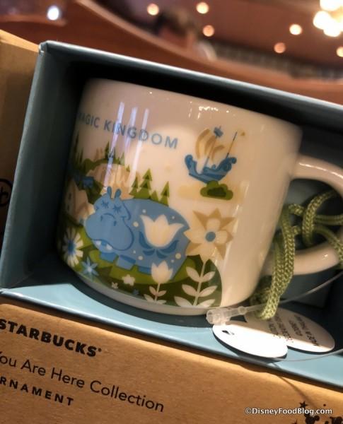 "Magic Kingdom ""You Are Here"" Mug Ornament"