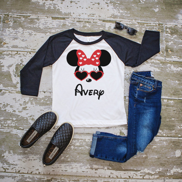 mickey and minnie kids tops