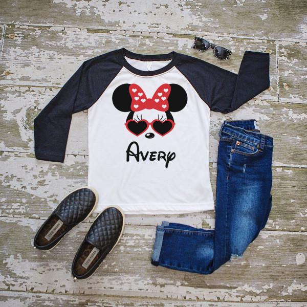 mickey and minnie kids tops