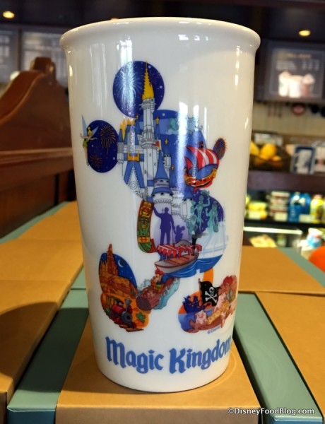 Magic Kingdom Ceramic Tumbler