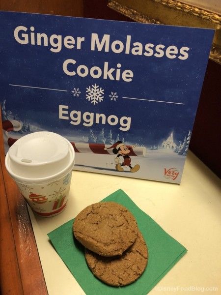Ginger Molasses and Eggnog