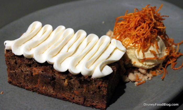 Charred Carrot Cake