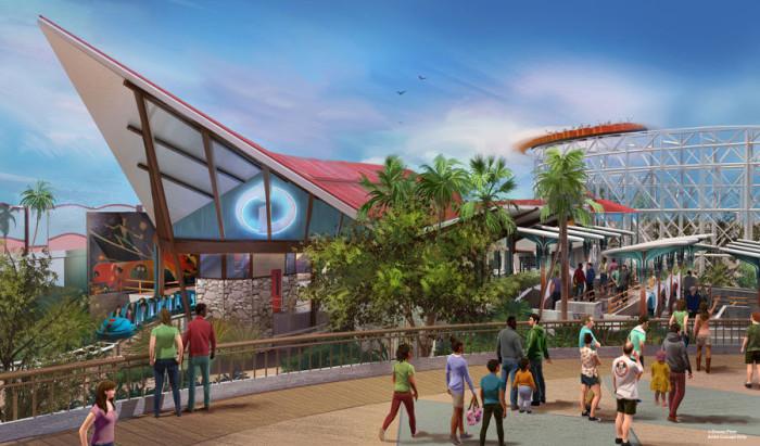 Pixar Pier concept art ©Disney