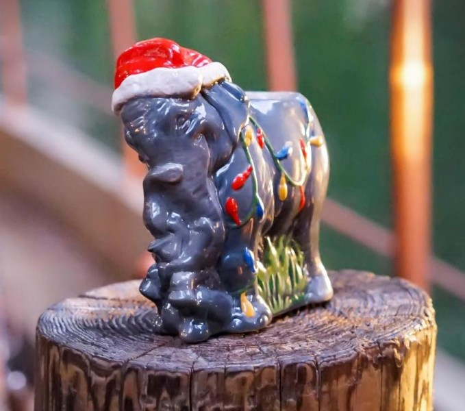 Holiday Elephant Tiki Mug ©Disney