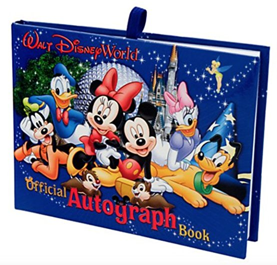 Get a free autograph book!