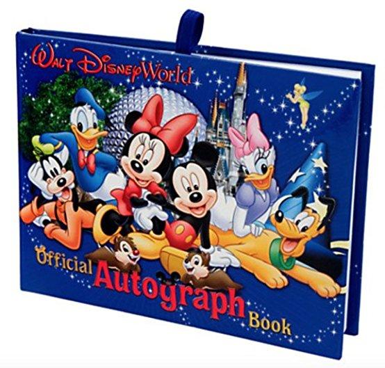 Get a free autograph book!
