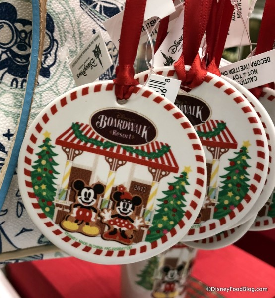 BoardWalk Holiday Ornament