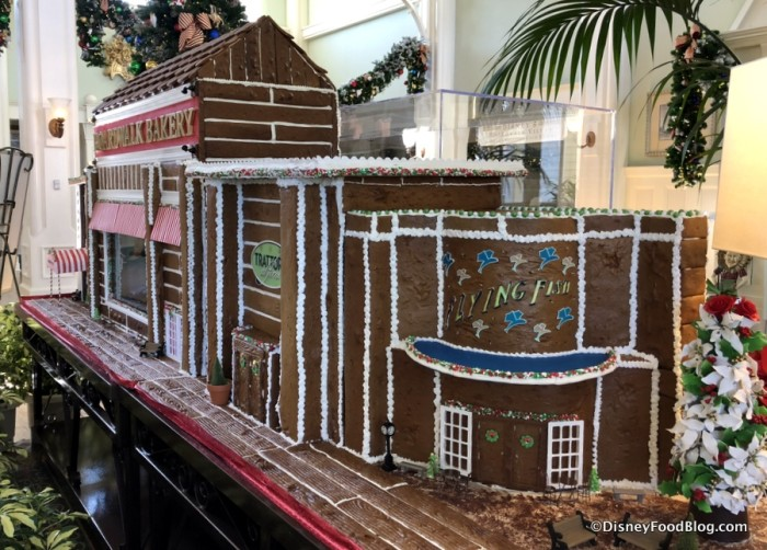 2017 BoardWalk Gingerbread Display