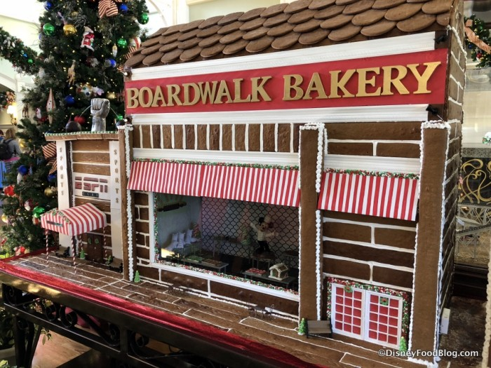 Gingerbread BoardWalk Bakery