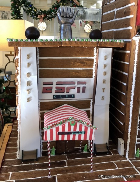 Gingerbread ESPN Club