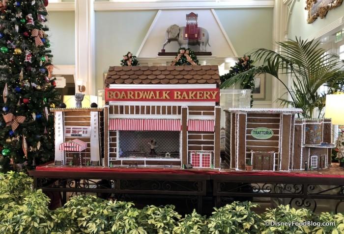 2017 BoardWalk Gingerbread Display