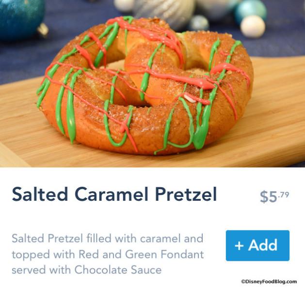 Salted Caramel Pretzel on Mobile Order