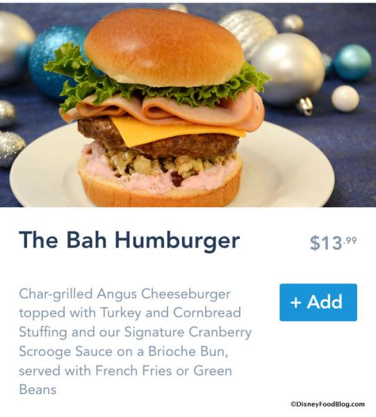 Bah Humburger on Mobile Order