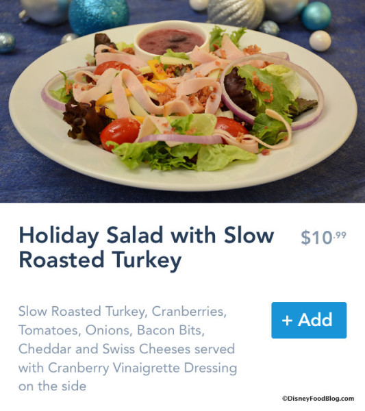 Holiday Salad on Mobile Order