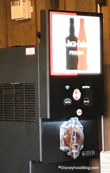 Jack and Coke Machine