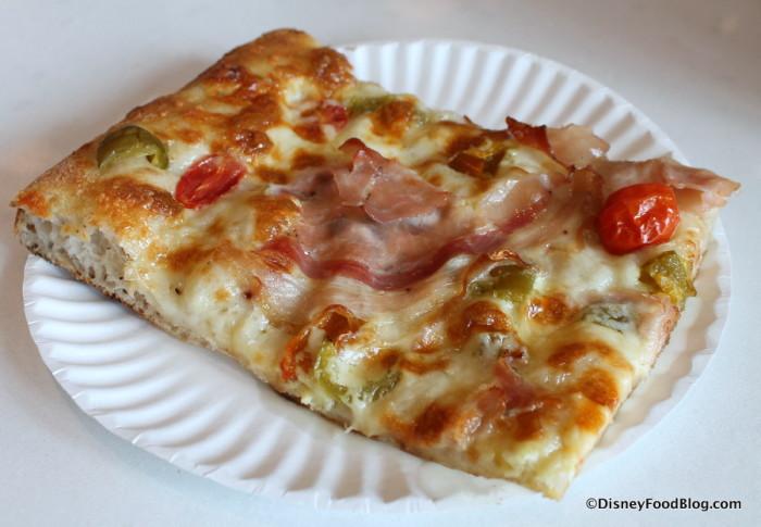 Slice of Porchetta Pizza