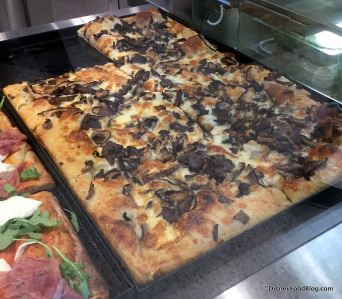 Forest Mushrooms Pizza