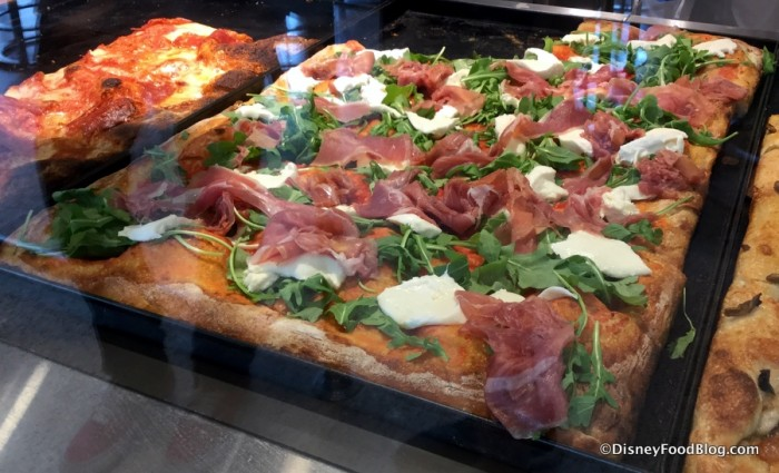 Pizza Counter at Pizza Ponte
