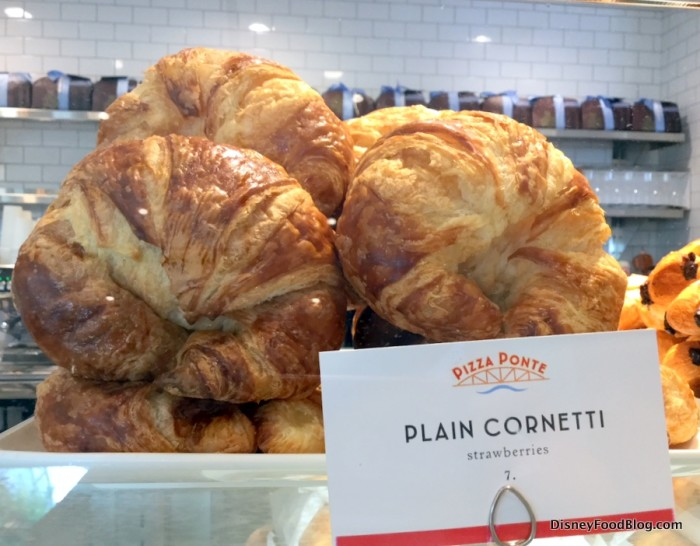 Plain Croissant (there's not really any stawberry in it)